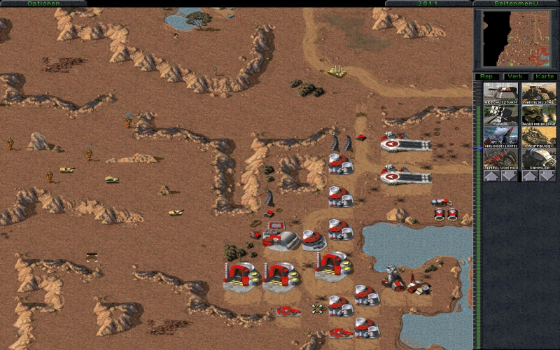 Command conquer tiberian dawn screenshot